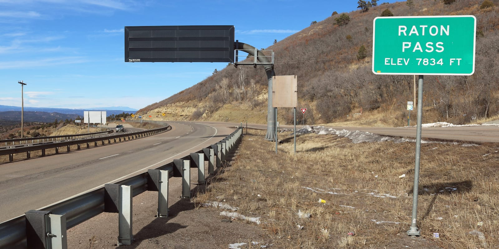 Raton Pass Colorado Summit I-25