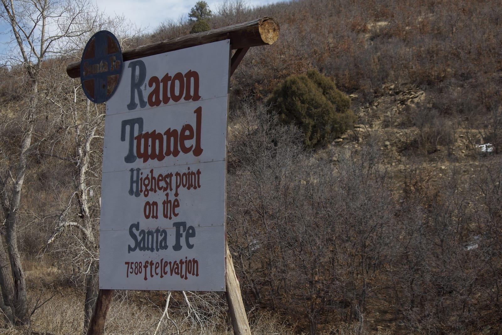 Raton Pass Tunnel Santa Fe Trail