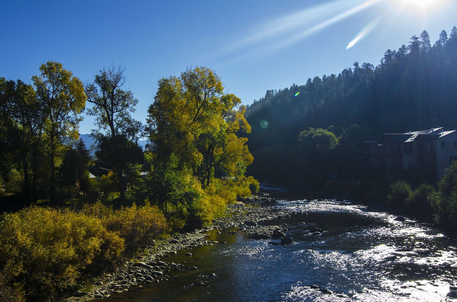 San Juan River Sunshine Pagosa Springs CO