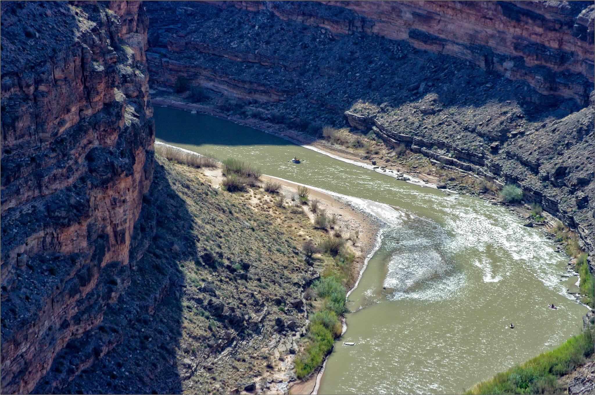 San Juan River Rafting Goosenecks Utah