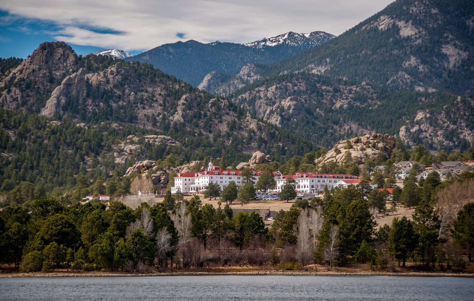 Stanley Hotel Lake Estes Colorado