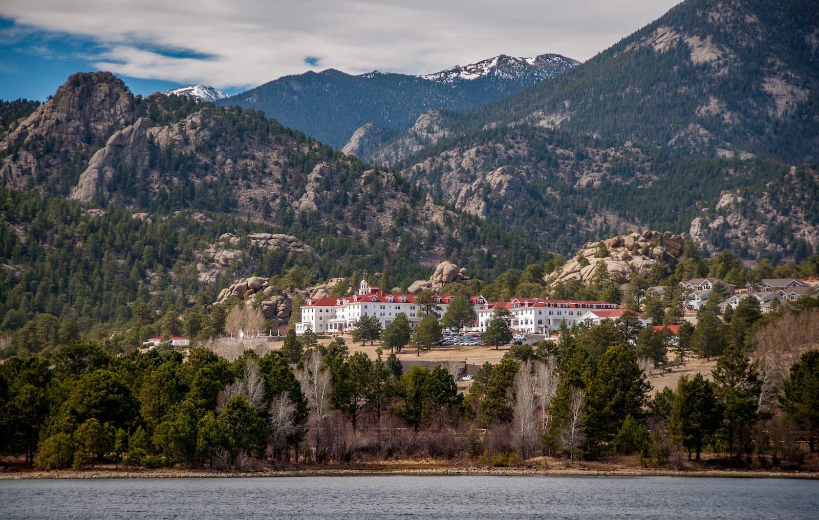 Stanley Hotel Lake Estes Colorado