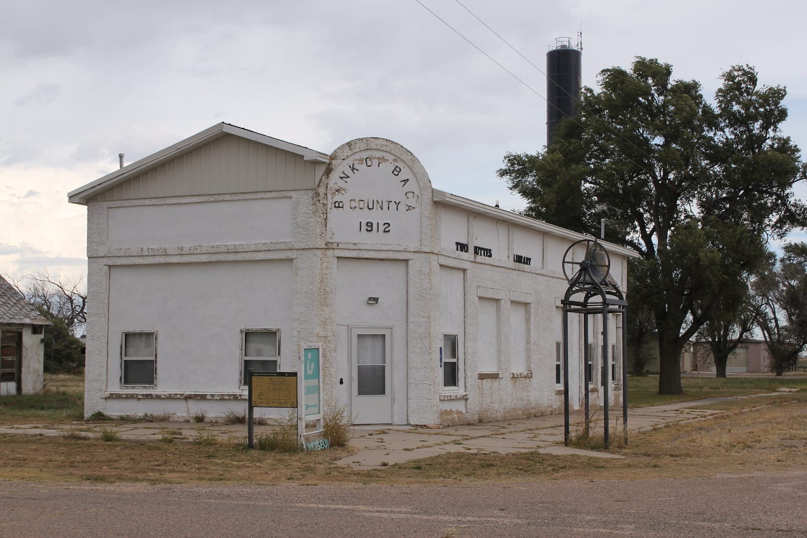 Two Buttes Library Colorado Old Bank of Baca County Building