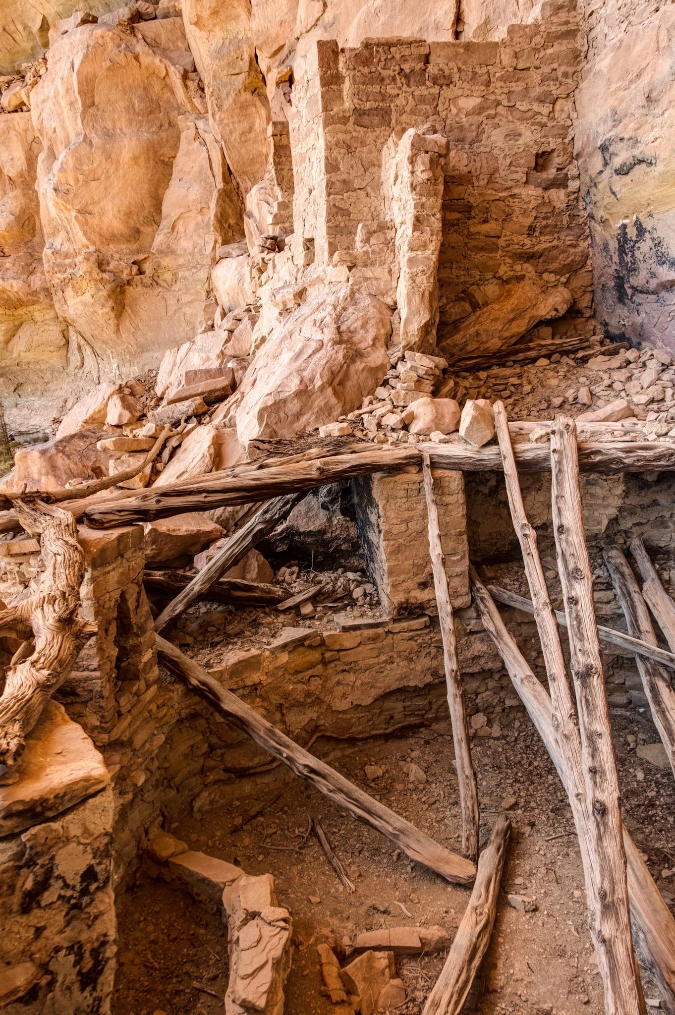 Ute Mountain Tribal Park Collapsed Kiva Ruin