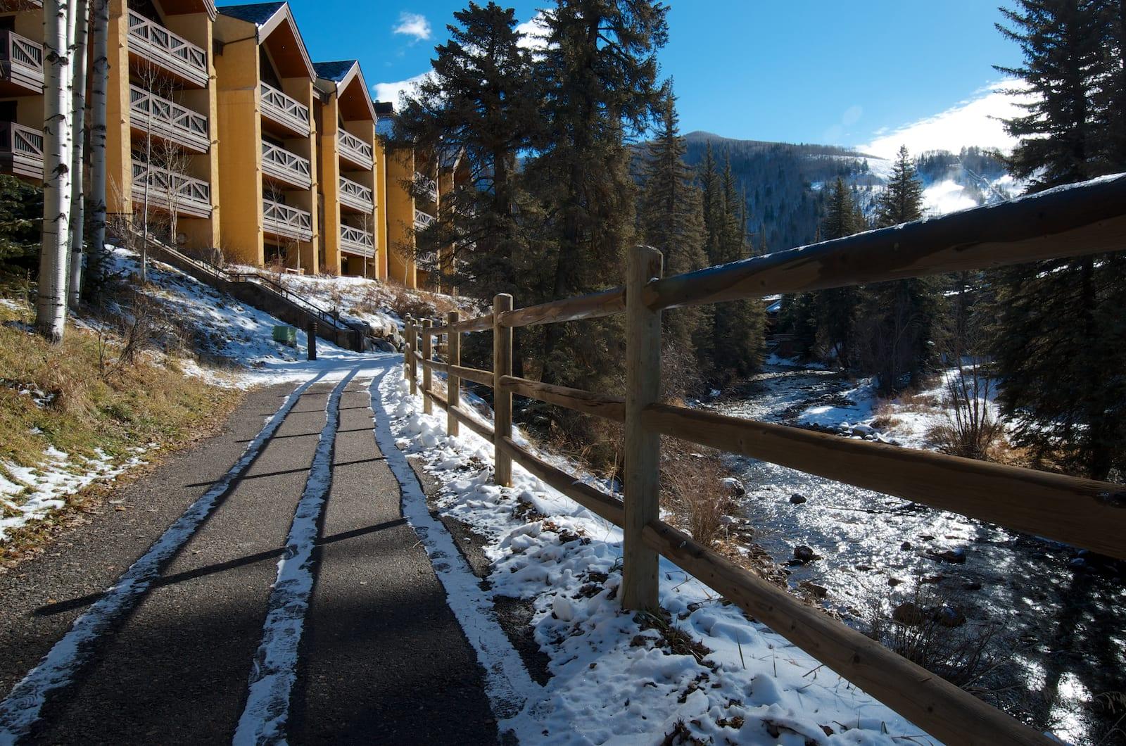 Vail Village Trail Colorado