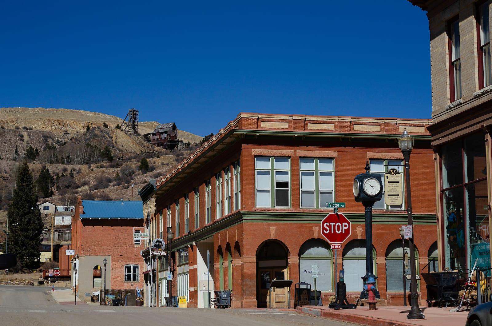 Downtown Victor Colorado