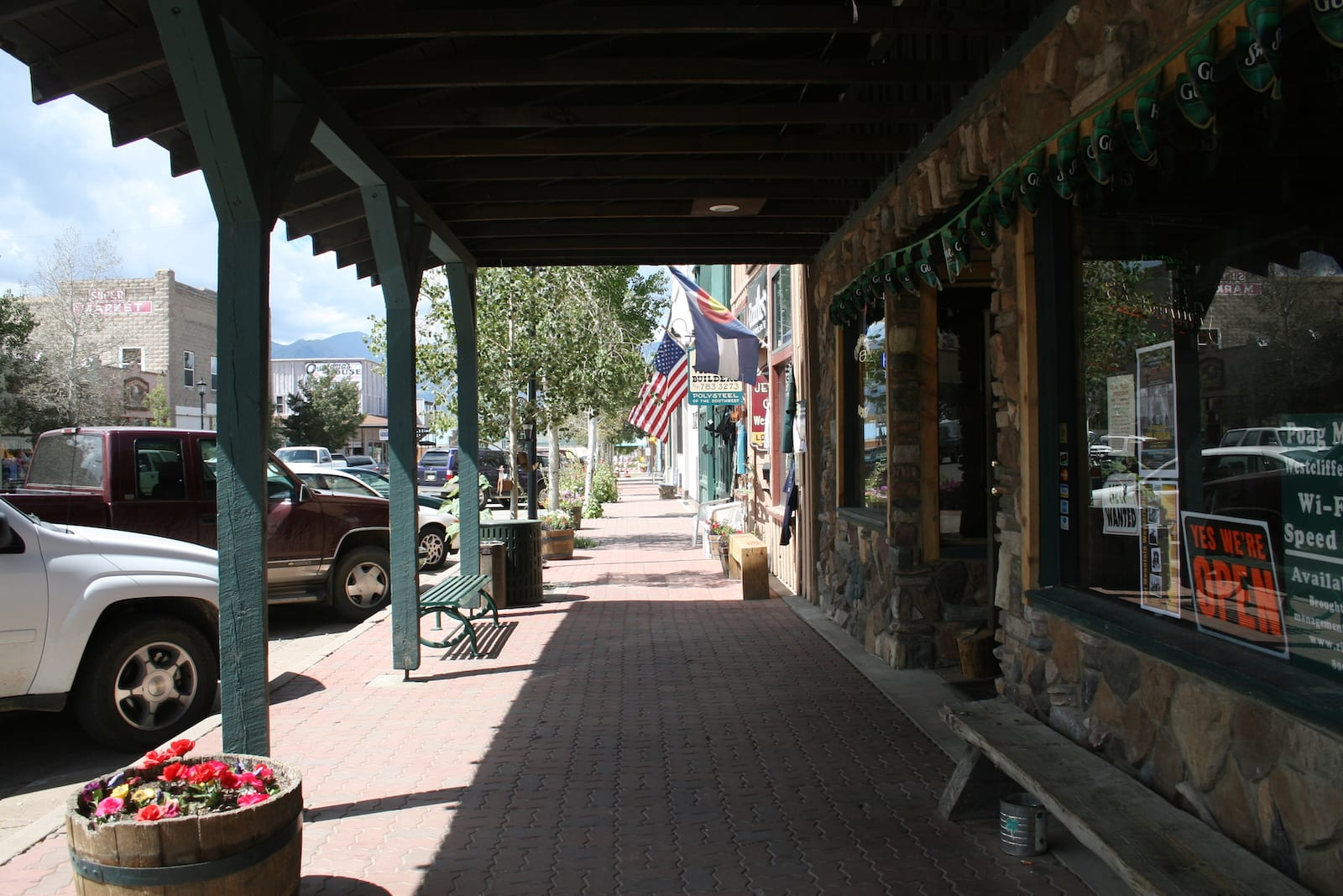 Westcliffe CO Downtown Main Street