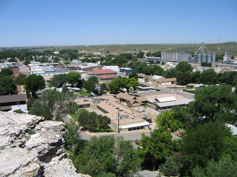 Wray CO Aerial View