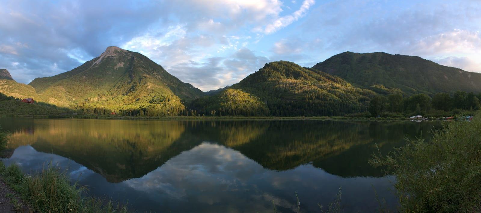 Beaver Lake in Marble, Colorado