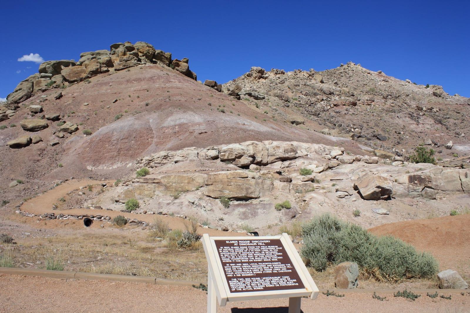 Dinosaur Hill, CO