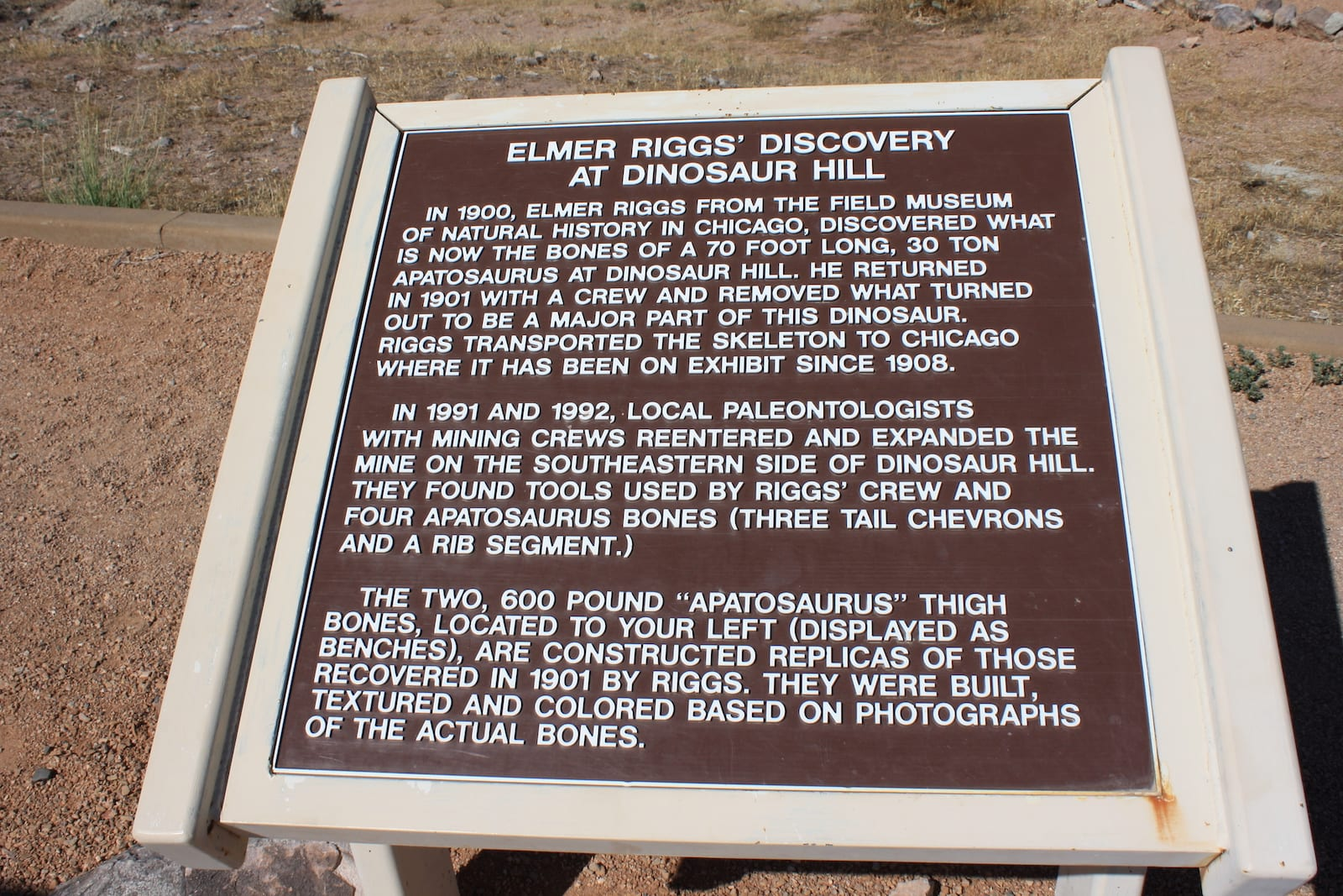 Information about Dinosaur Hill