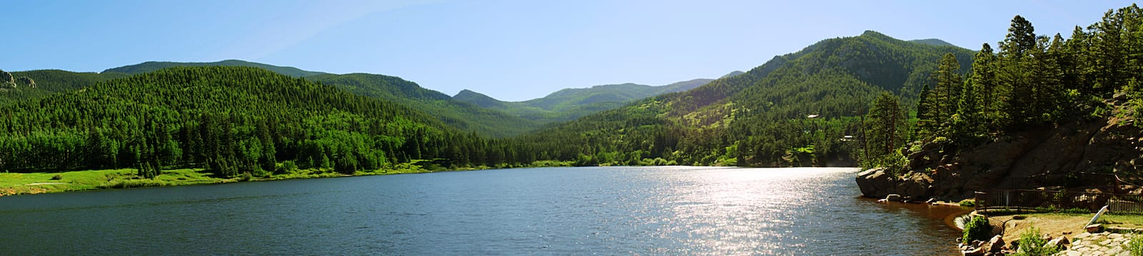 Lake Isabel Panorama, CO