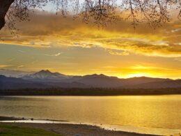 McIntosh Lake in Longmont, Colorado