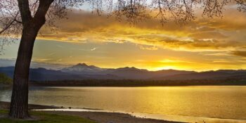 McIntosh Lake in Longmont, Colorado