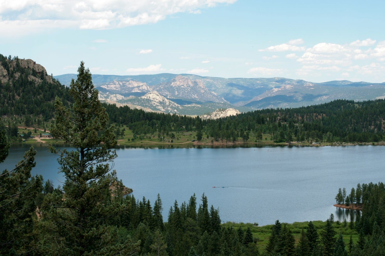 Wellington Lake, Colorado