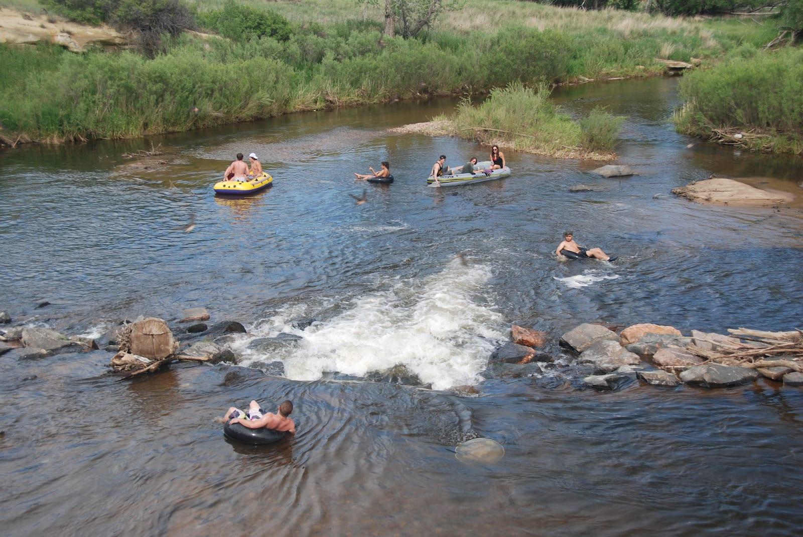Boulder Creek Rafting Tubing Colorado