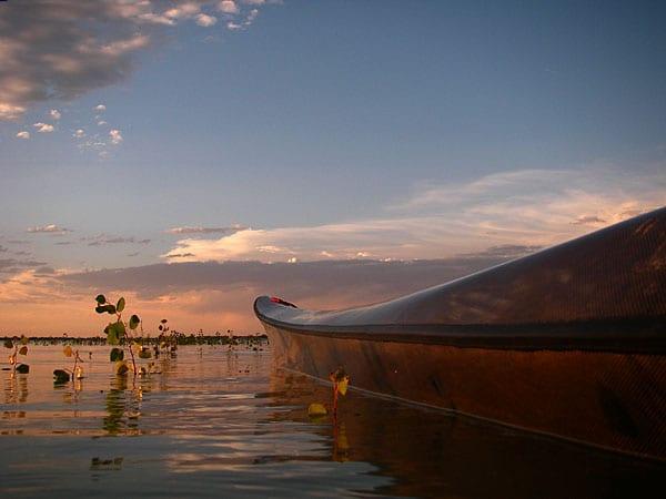 Boyd Lake Colorado Sunset Paddling
