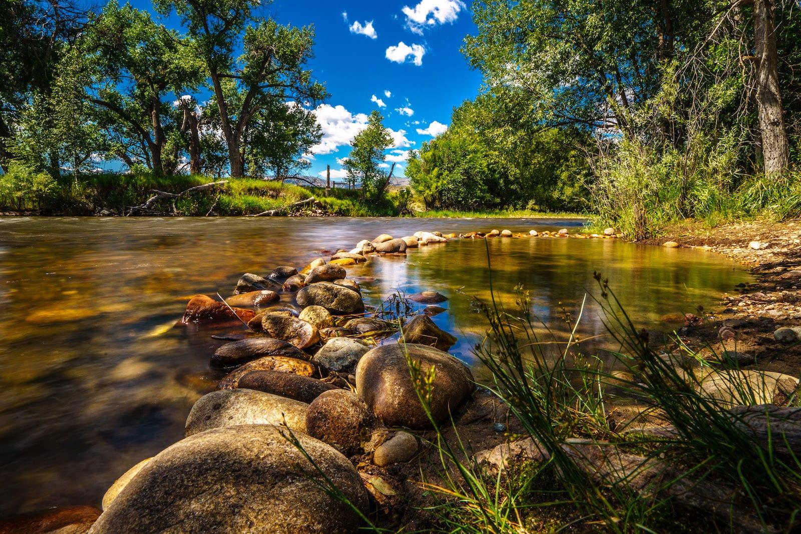Cache La Poudre River Fort Collins CO