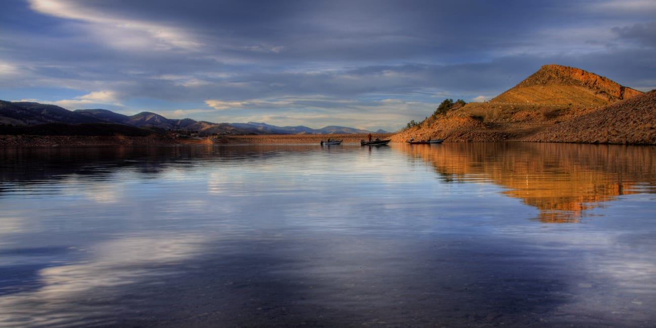 Fishing Spots near Fort Collins Horsetooth Reservoir