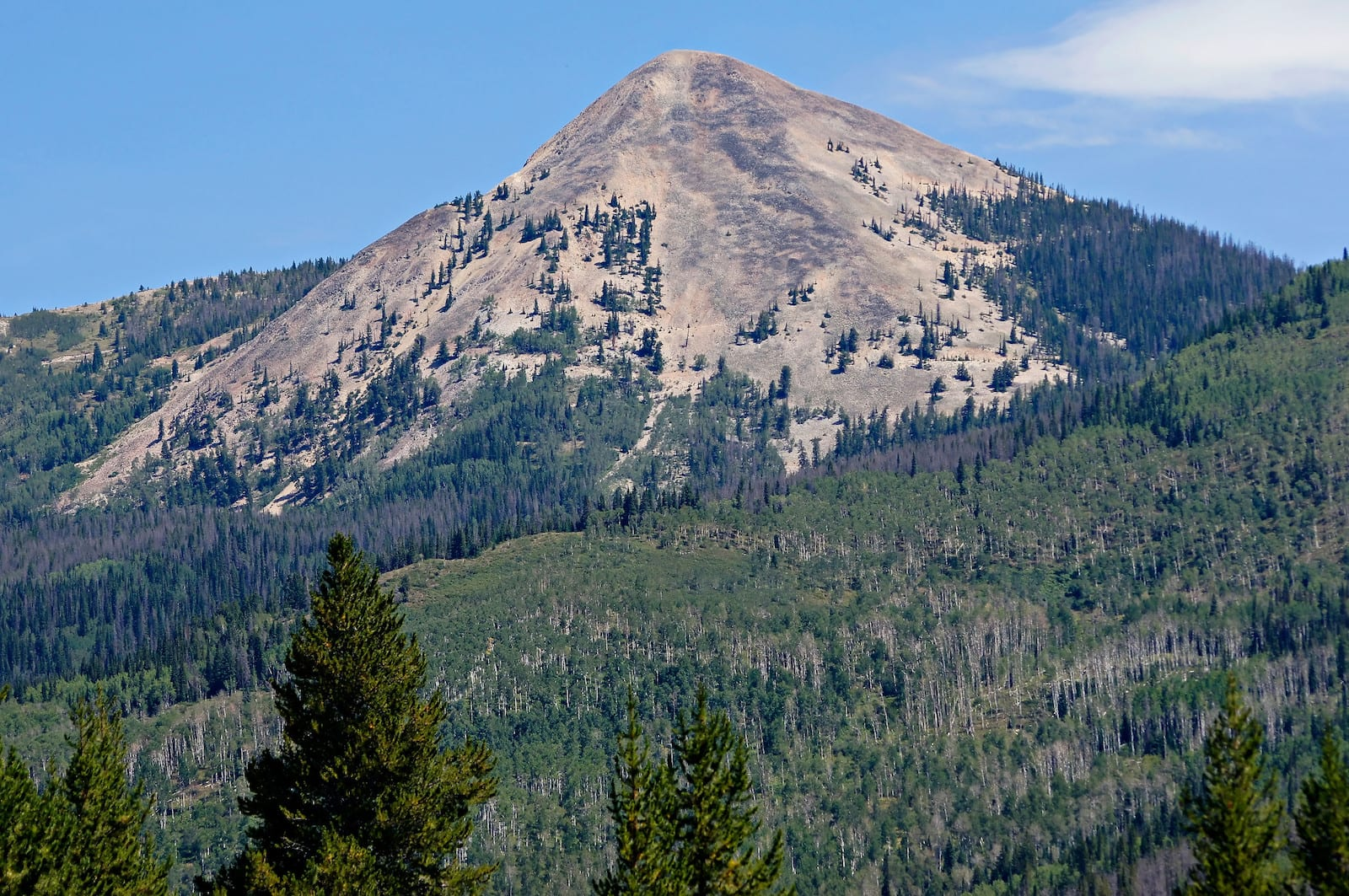 Hahns Peak Mountain Colorado