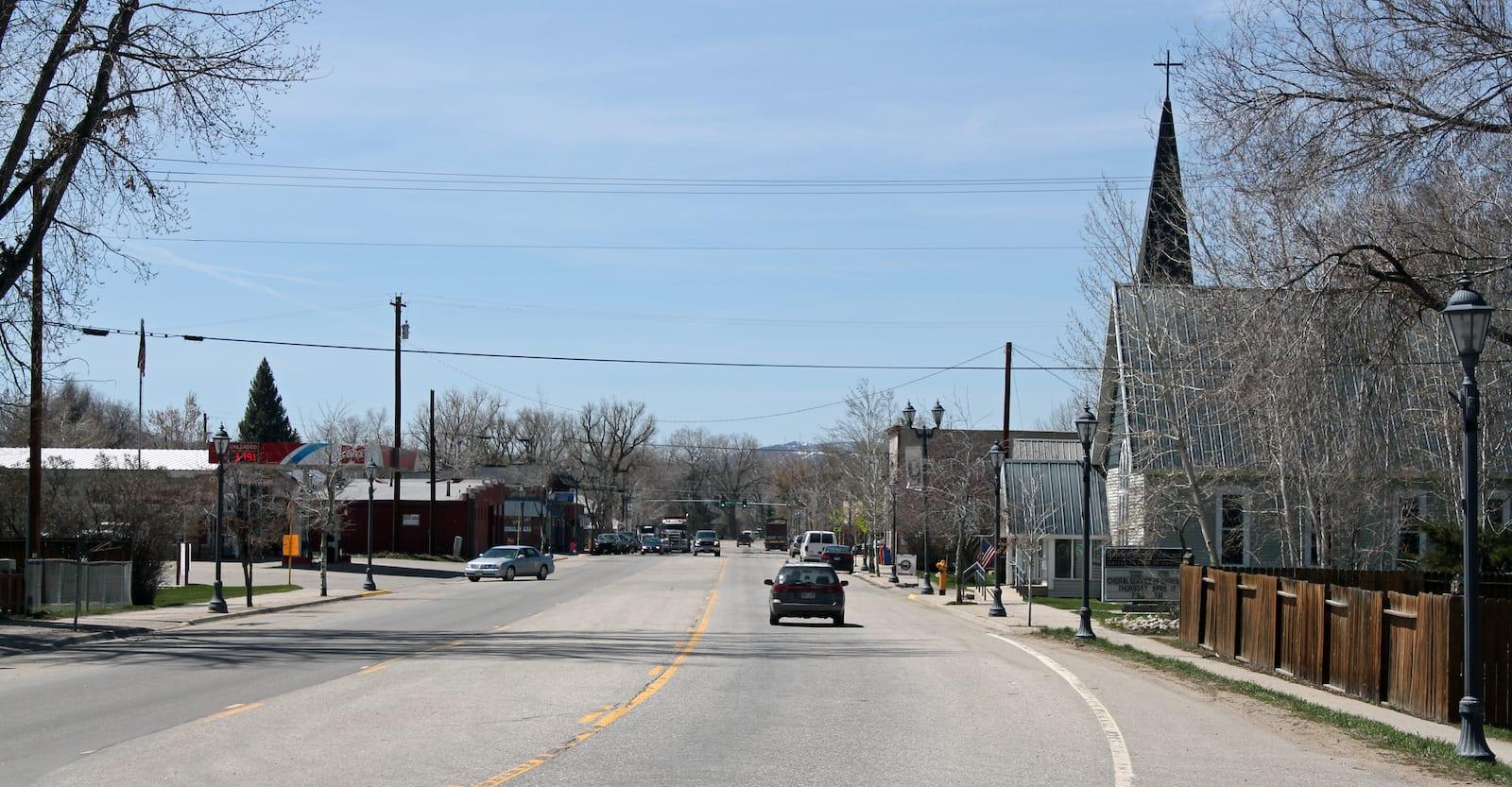 Hayden Colorado Jefferson Avenue Highway 40