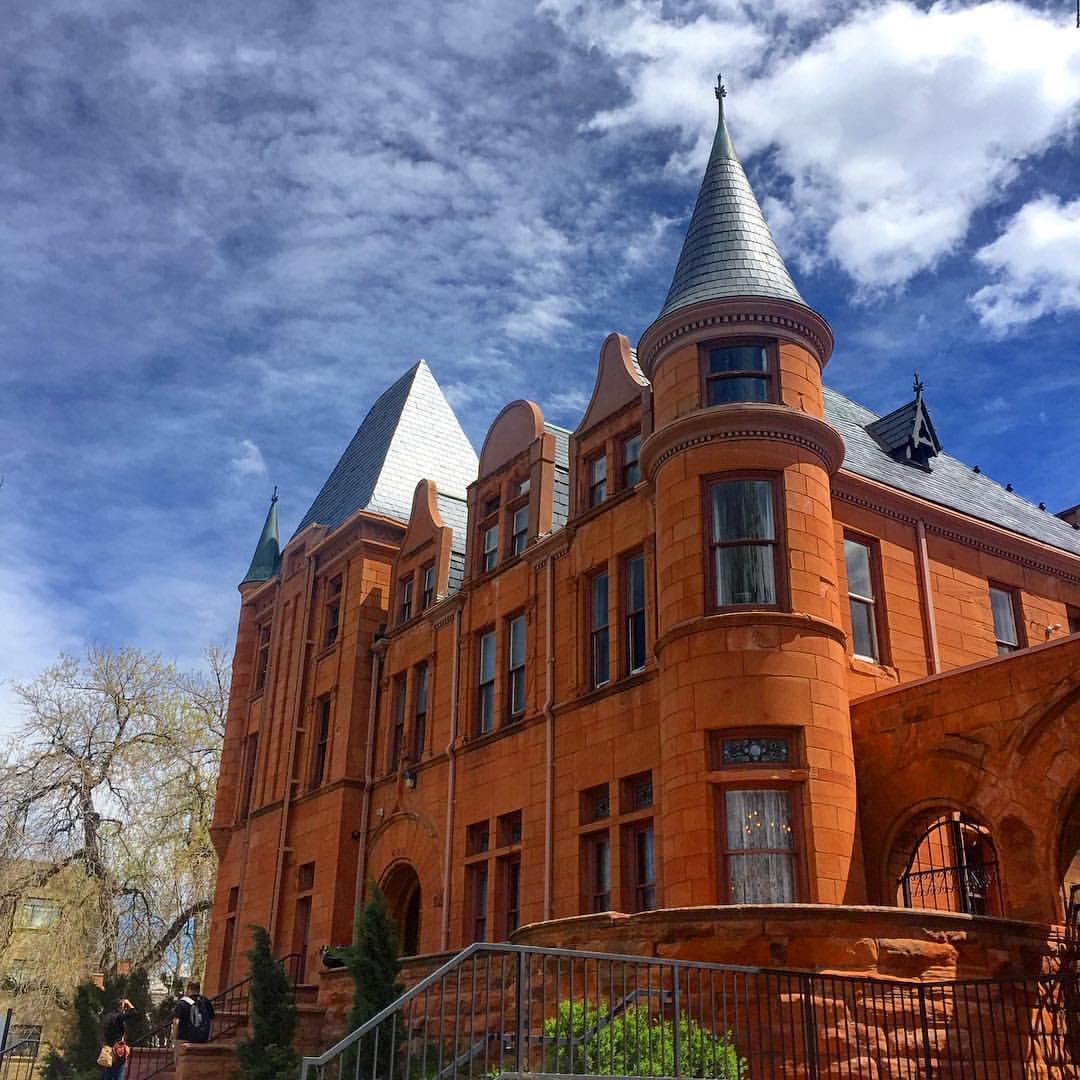 Patterson Inn Denver CO Red Brick Exterior