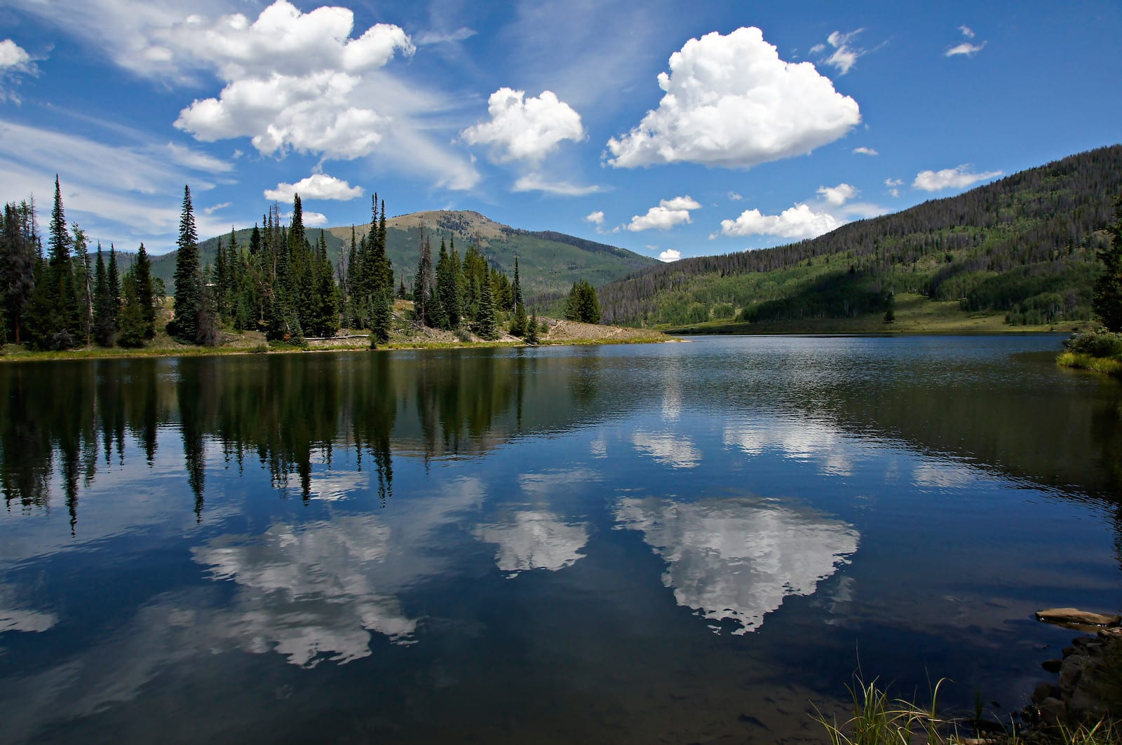 Pearl Lake Blue Water Colorado