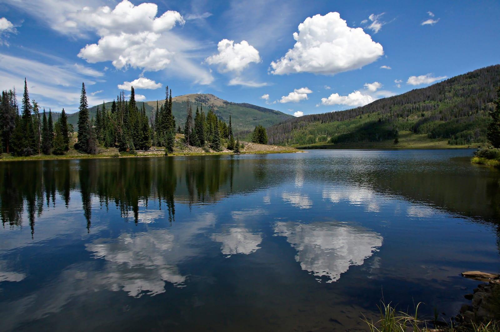 Pearl Lake Blue Water Colorado