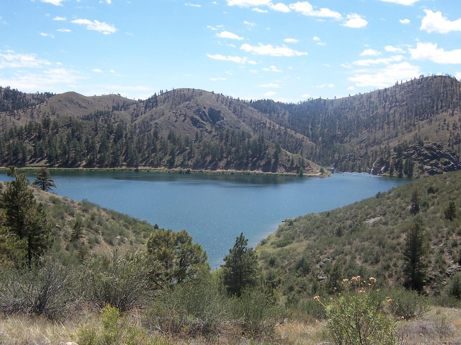 Seaman Reservoir Fort Collins CO