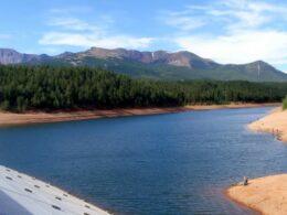 South Catamount Reservoir Dam Colorado