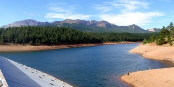 South Catamount Reservoir Dam Colorado
