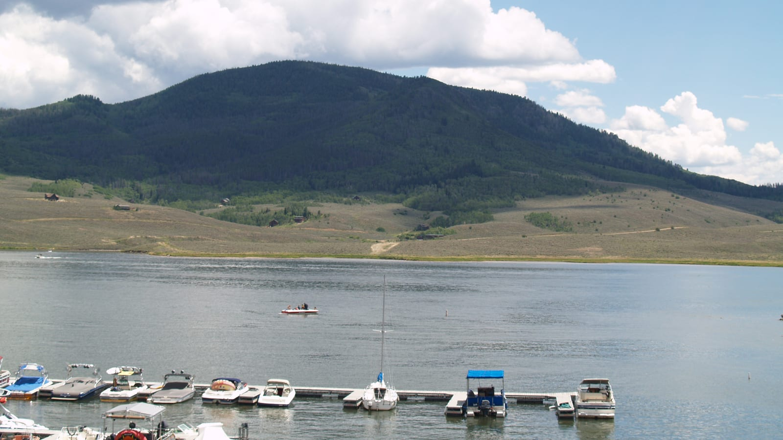Stagecoach Reservoir Boats Oak Creek CO