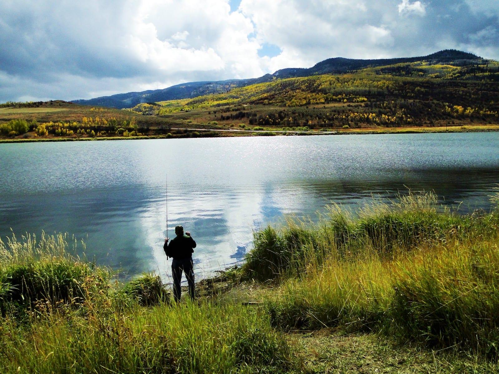 Stagecoach State Park Fishing Oak Creek CO