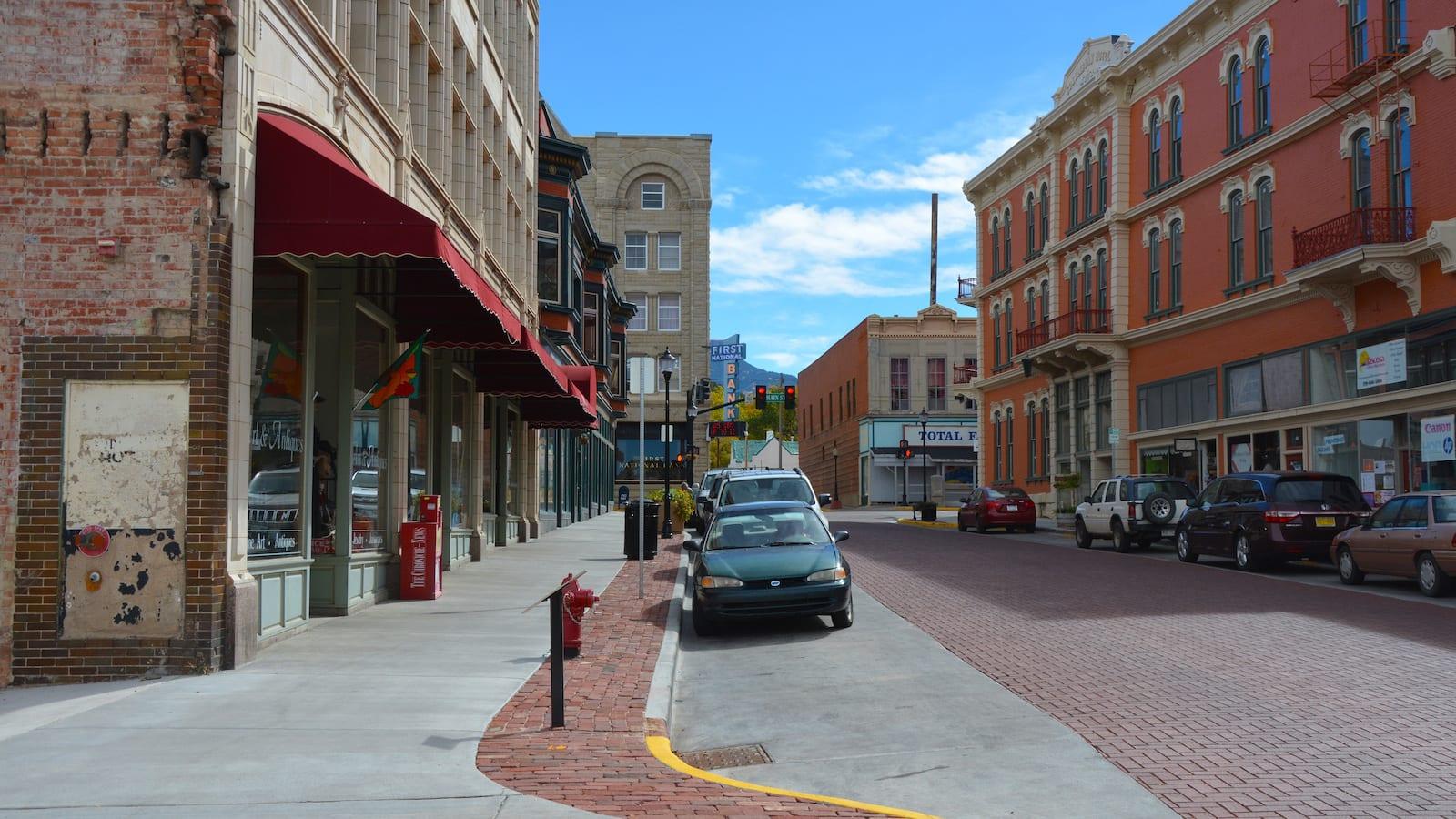 Trinidad Colorado Historic Downtown