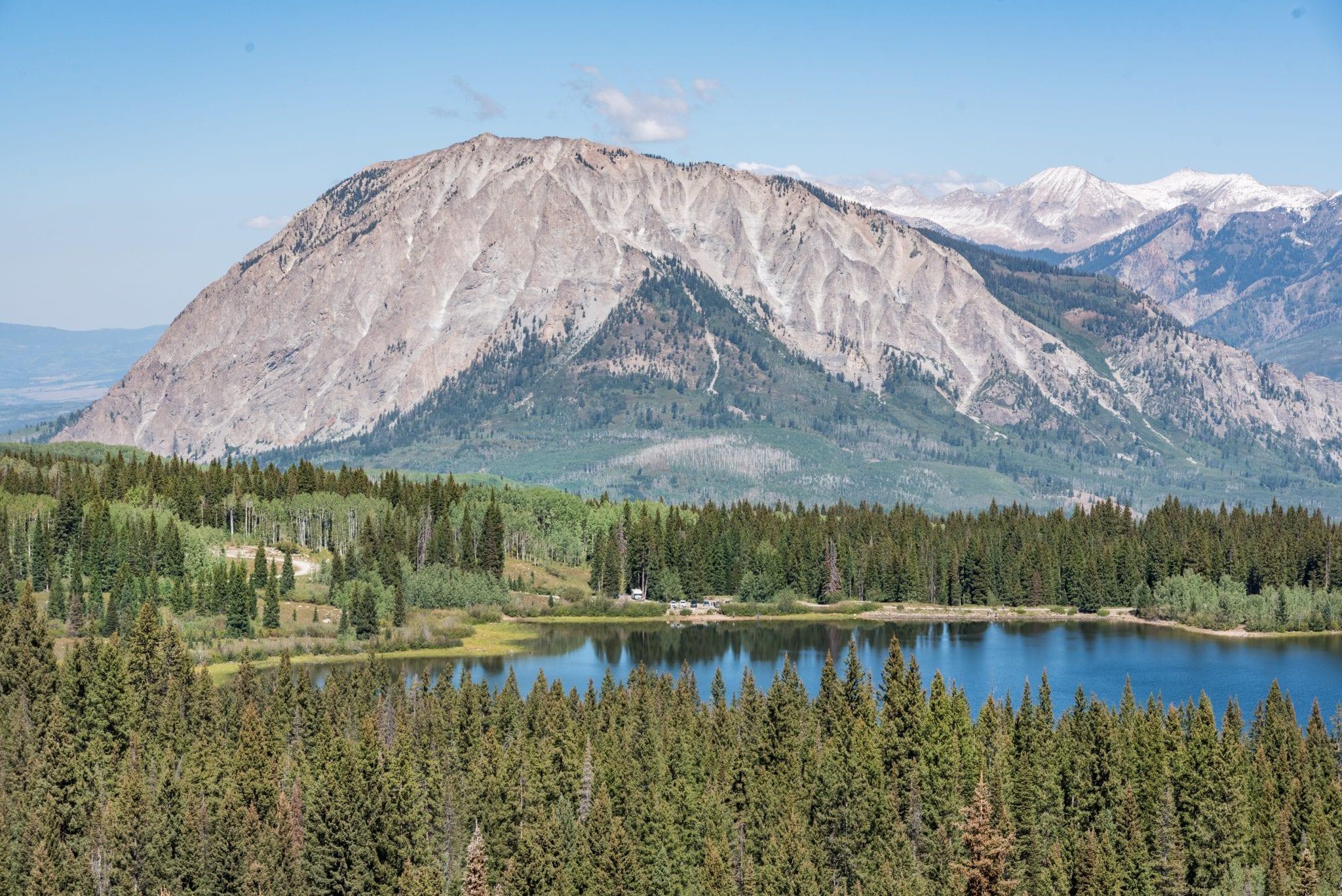 image of three lakes loop trail