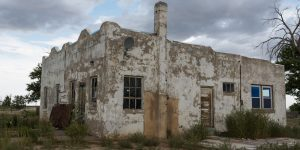 image of abandonded building in model colorado