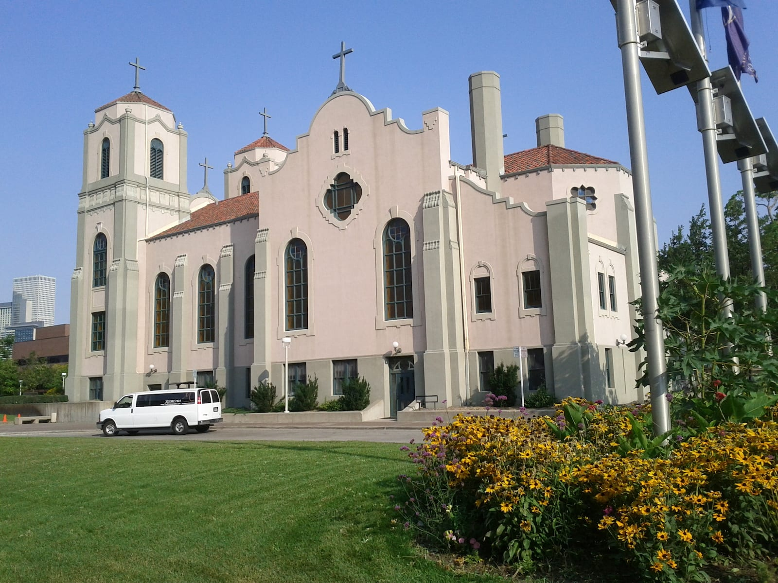 Auraria Neighborhood Denver CO St Cajetan Catholic Church