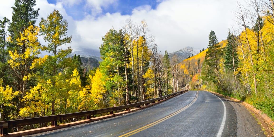 Bear Lake Road Autumn Colors