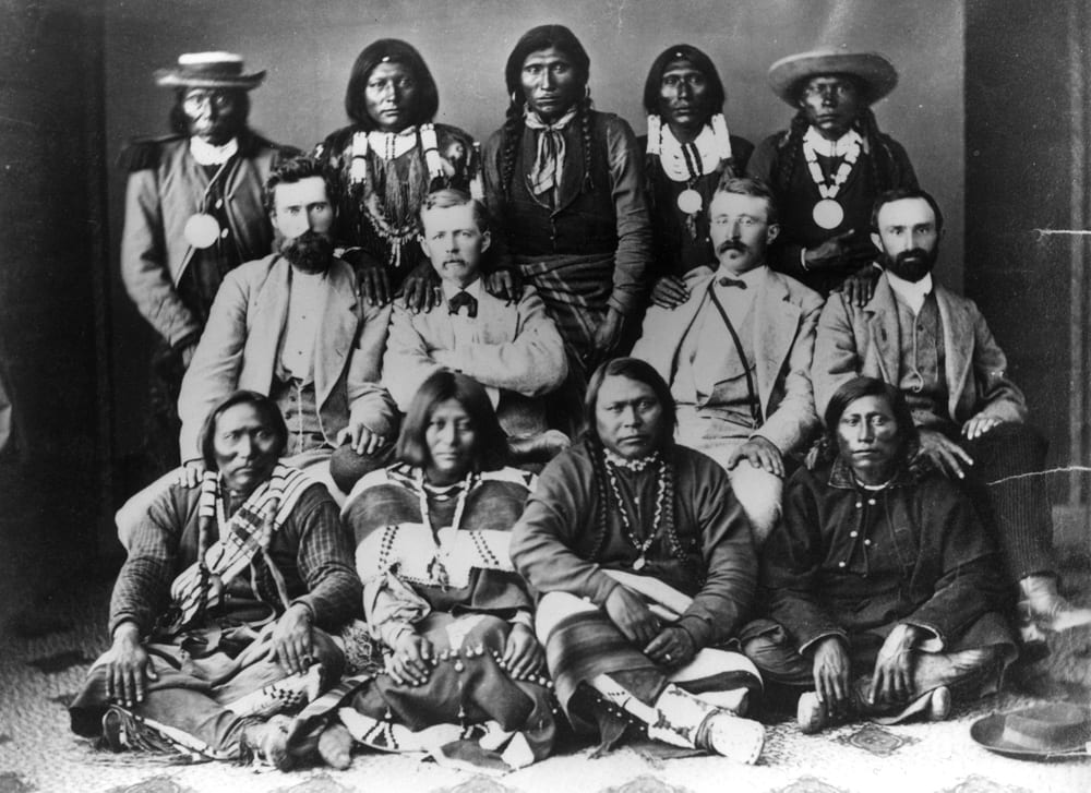 1873 Brunot Agreement Chief Ouray