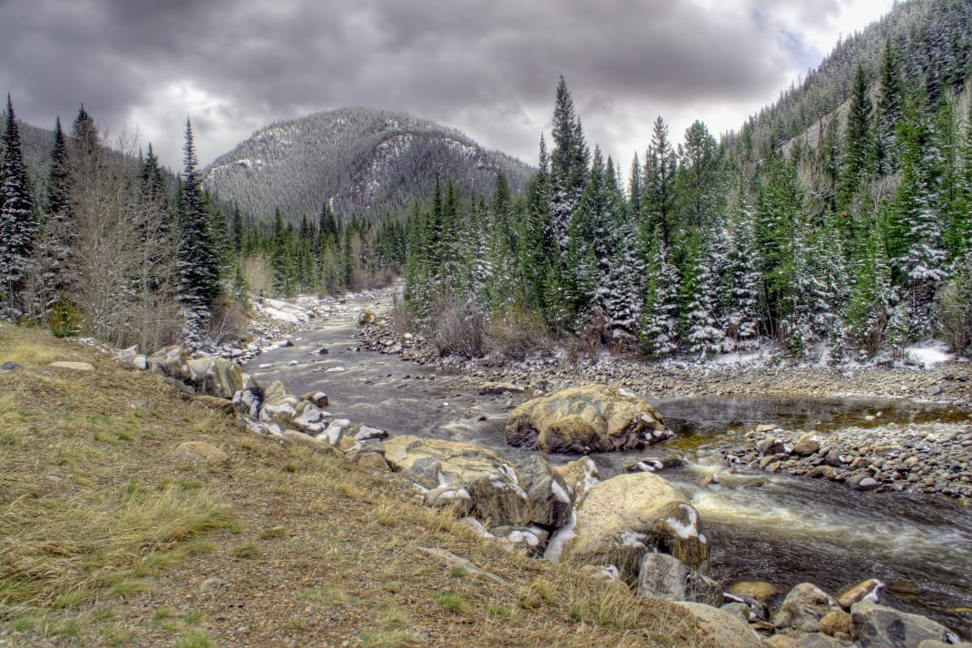 Cameron Pass and Poudre River