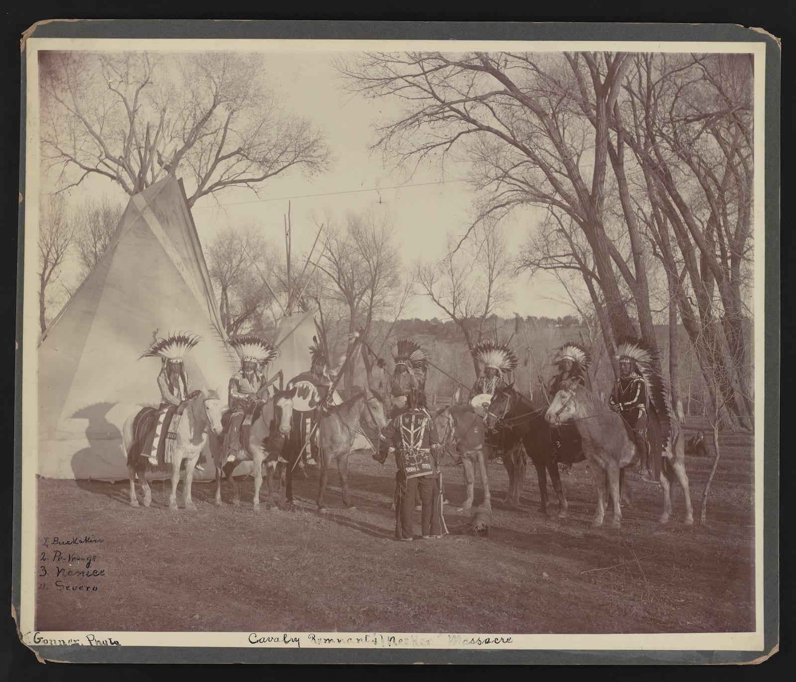 Cavalry Remnant of Meeker Massacre