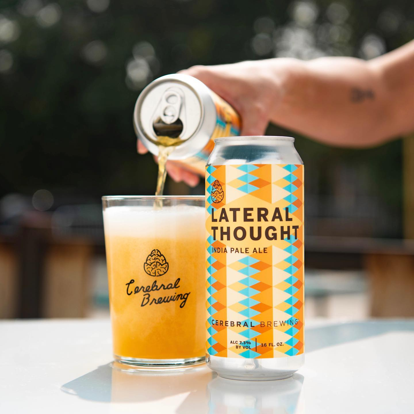 image of beer from cerebral brewing