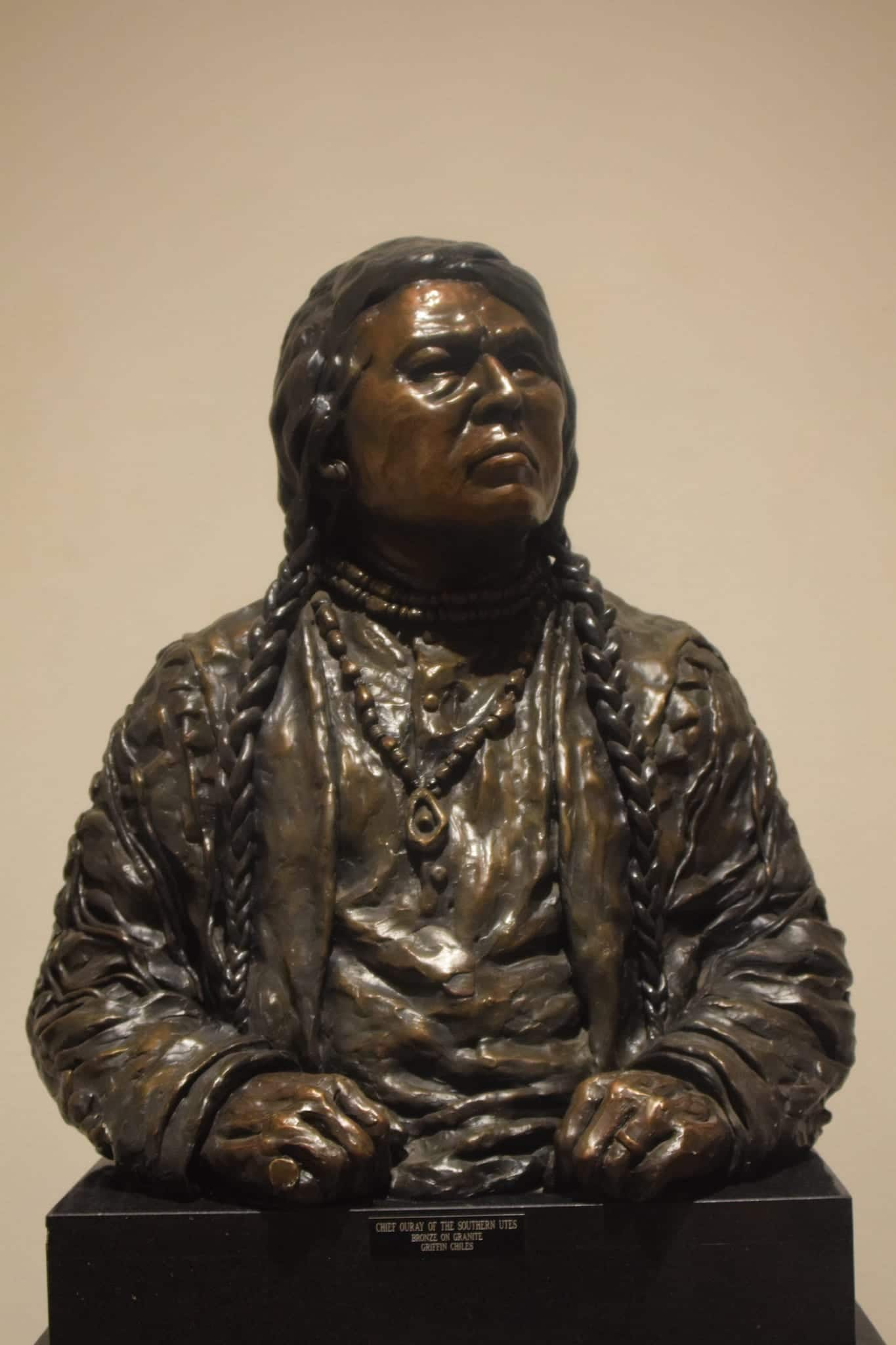 Chief Ouray Bronze Vust