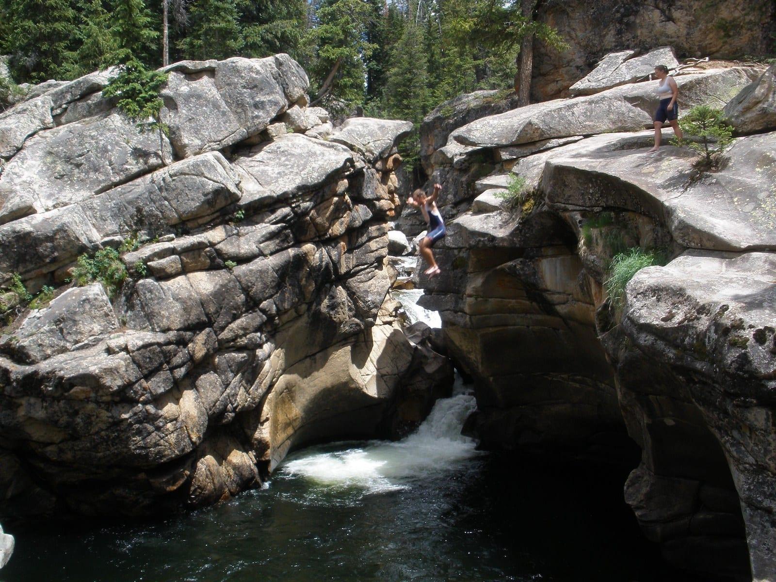 Devil's Punchbowl Swimming Hole Aspen CO