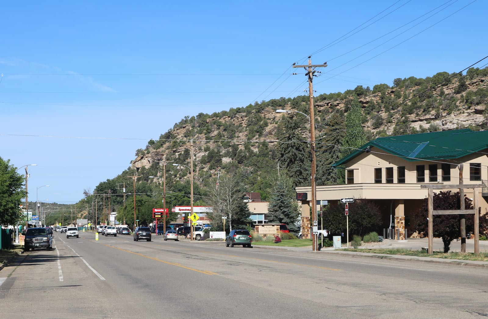 Dolores CO Railroad Avenue Main Street