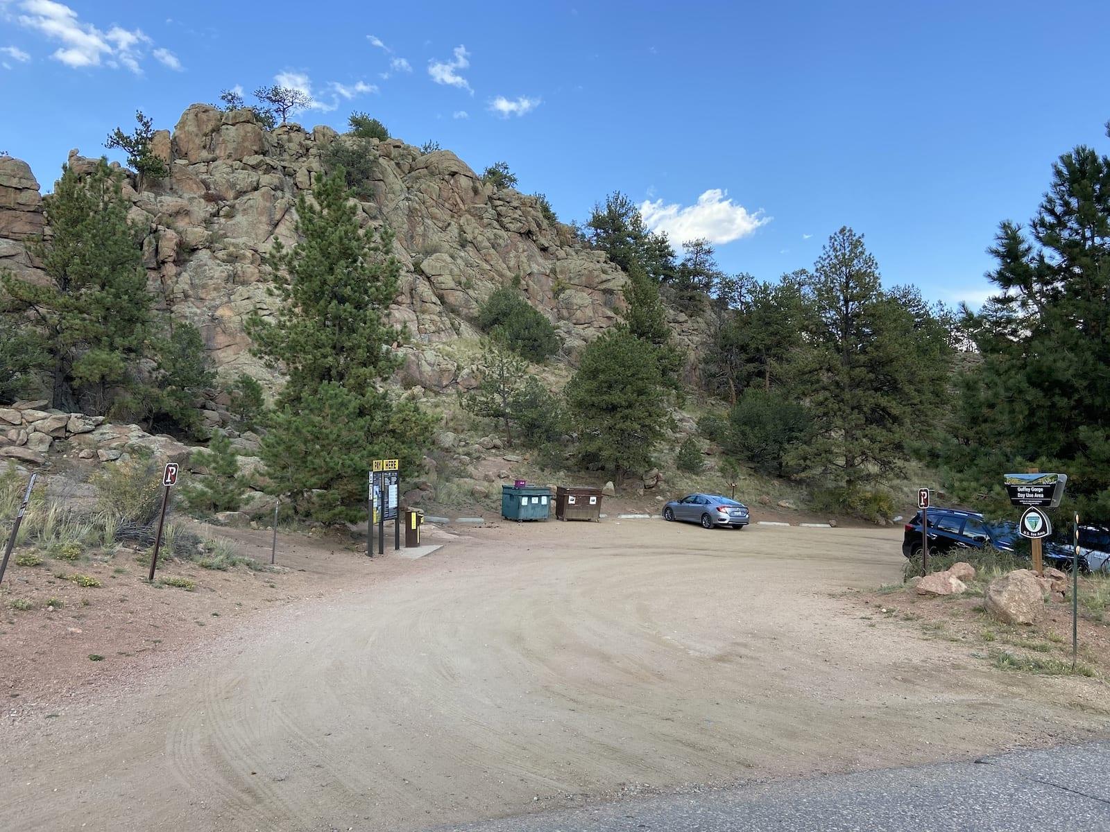Guffey Gorge Colorado Parking Lot