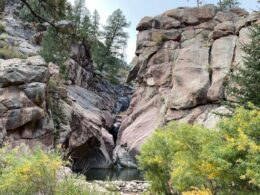 Guffey Gorge Paradise Cove Swimming Hole Colorado
