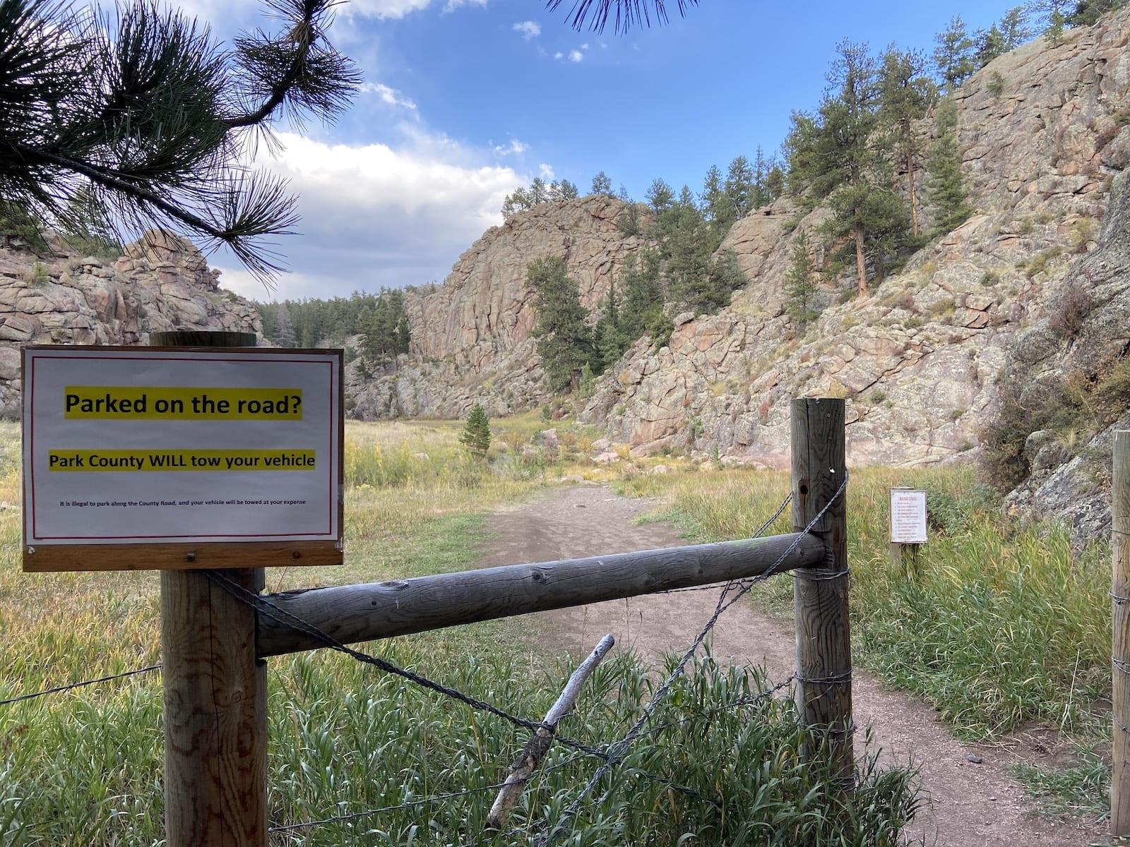 Guffey Gorge Hiking Trail