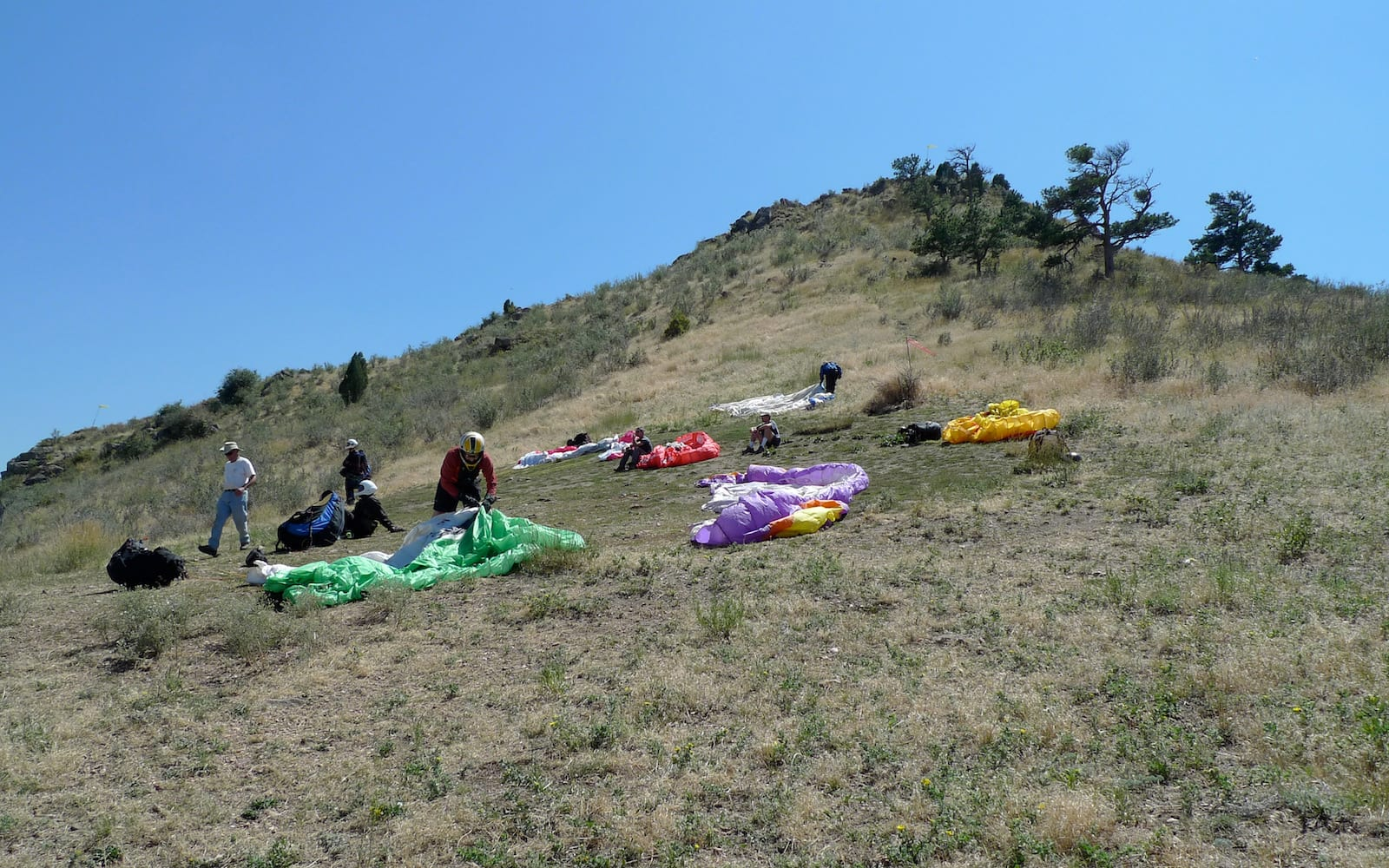 Lookout Mountain Paragliding Golden CO