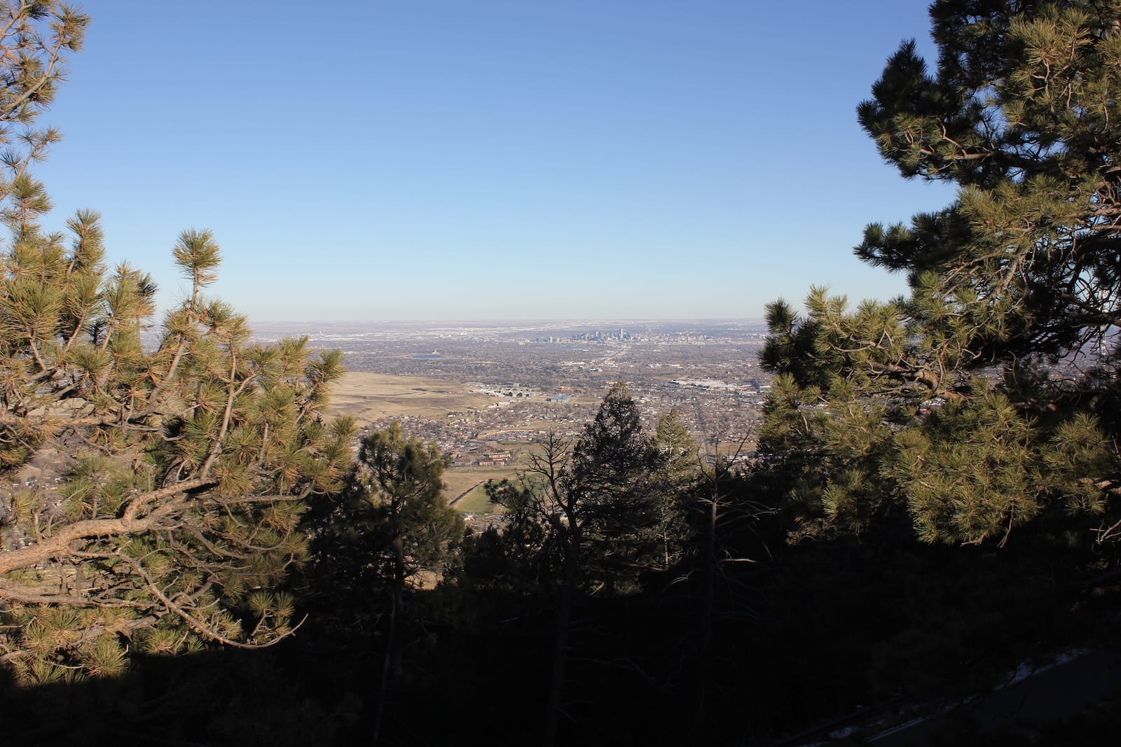 Lookout Mountain View of Denver CO